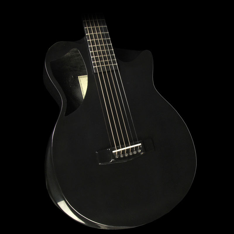 Journey Instruments RT660 Road Trip Carbon Fiber Acoustic Guitar Black Gloss RT660