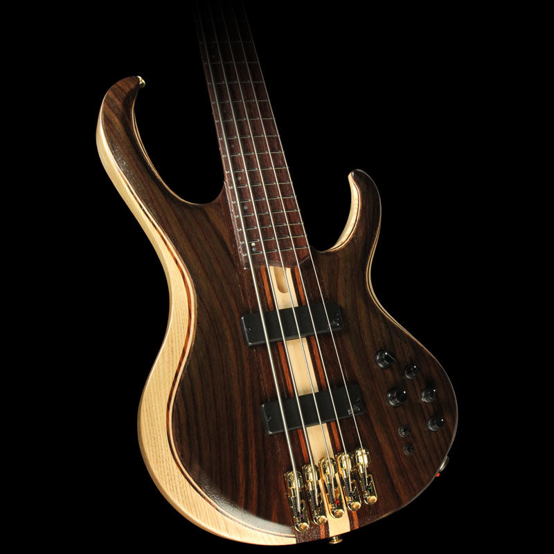 Used Ibanez BTB1805E Premium 5-String Electric Bass Natural Low Gloss 170100426