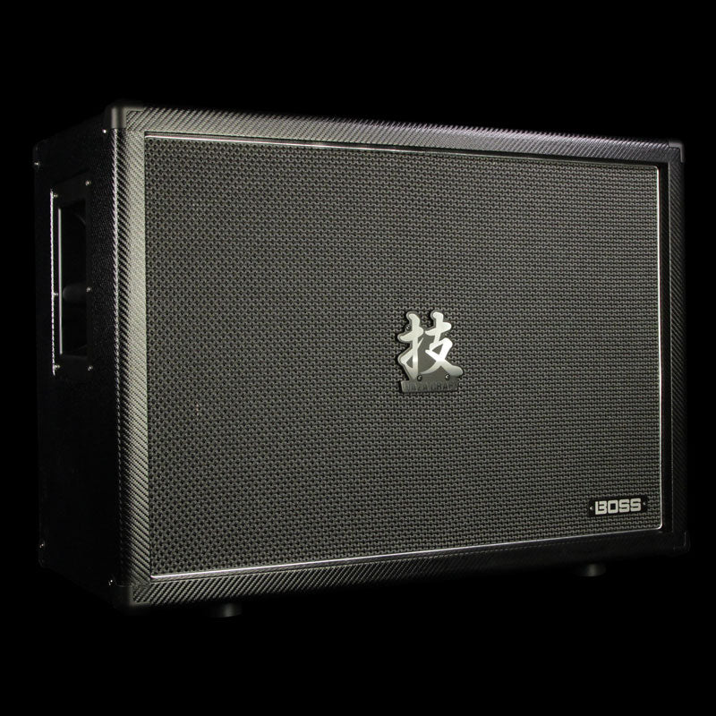 "Used Boss WAZA  2x12"" Guitar Amplifier Cabinet"