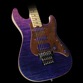 ESP Custom Shop 2017 NAMM Display Snapper-FR Electric Guitar See-Through Pink Purple