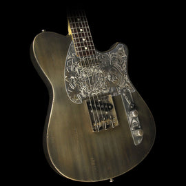 Wild Custom Guitars Wild-TV Electric Guitar Metallic Olive Green