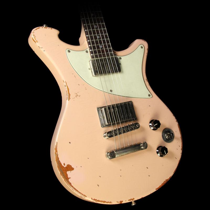 Wild Custom Guitars WildOne Electric Guitar Relic Shell Pink