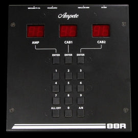 Ampete 88R Remote for 88S Amplifier and Cabinet Router