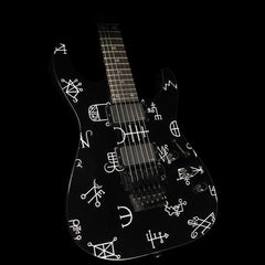 ESP LTD KH-602 Kirk Hammett Electric Guitar Black