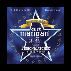 Curt Mangan Fusion Matched Nickel Wound Electric Strings (9-42)