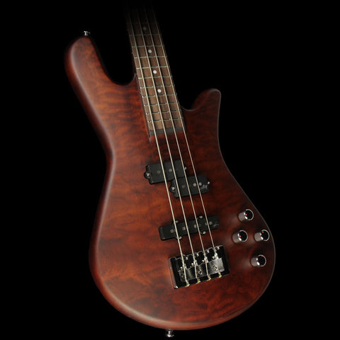 Spector Legend 4 Neck-Thru Electric Bass Walnut Matte