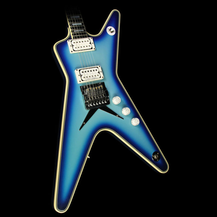 Used 1982 Dean ML Electric Guitar Blue Burst 4661
