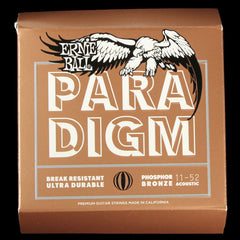 Ernie Ball Paradigm Phosphor Bronze Acoustic Guitar Strings 11-52