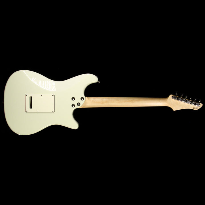 Used John Page Classic Ashburn Left-Handed Electric Guitar Olympic White JPC1070
