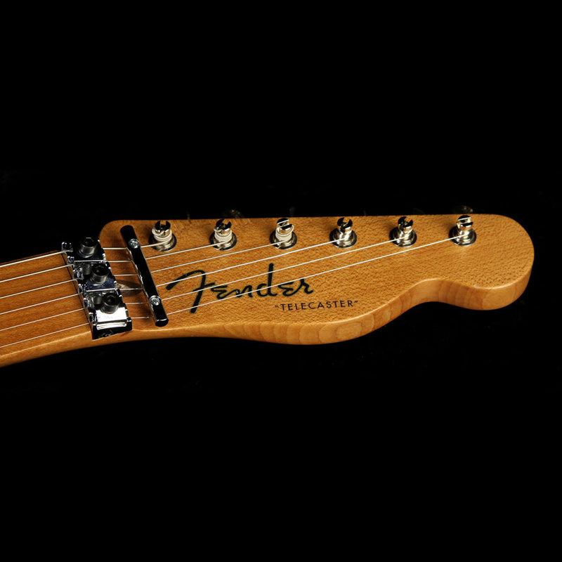 Used 2016 Fender Custom Shop Exclusive Roasted ZF Telecaster Electric Guitar Butterscotch Blonde 10576