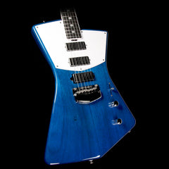 Ernie Ball Music Man Ball Family Reserve St. Vincent Signature Electric Guitar Transparent Blue