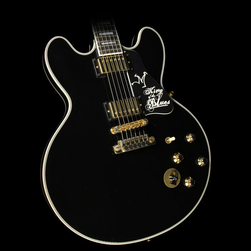 Used Gibson Lucille King of the Blues ES-355 Limited Edition Electric Guitar Ebony 40