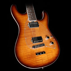 Ernie Ball Music Man Steve Morse Ball Family Reserve Caramel Burst