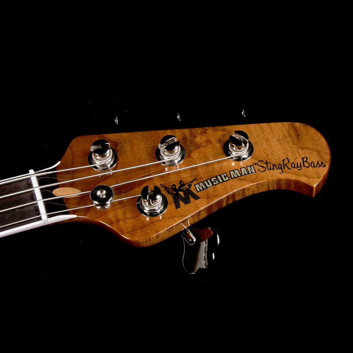 Ernie Ball Music Man 40th Anniversary StingRay Old Smoothie Electric Bass Trans Buttercream C02199