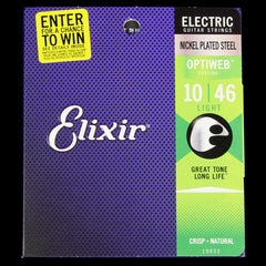 Elixir OptiWeb  Electric Guitar Strings Light