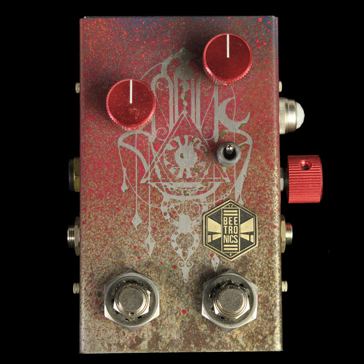 Beetronics WhoctaHell Low Octave Fuzz Custom Series Fortune Teller Effects Pedal