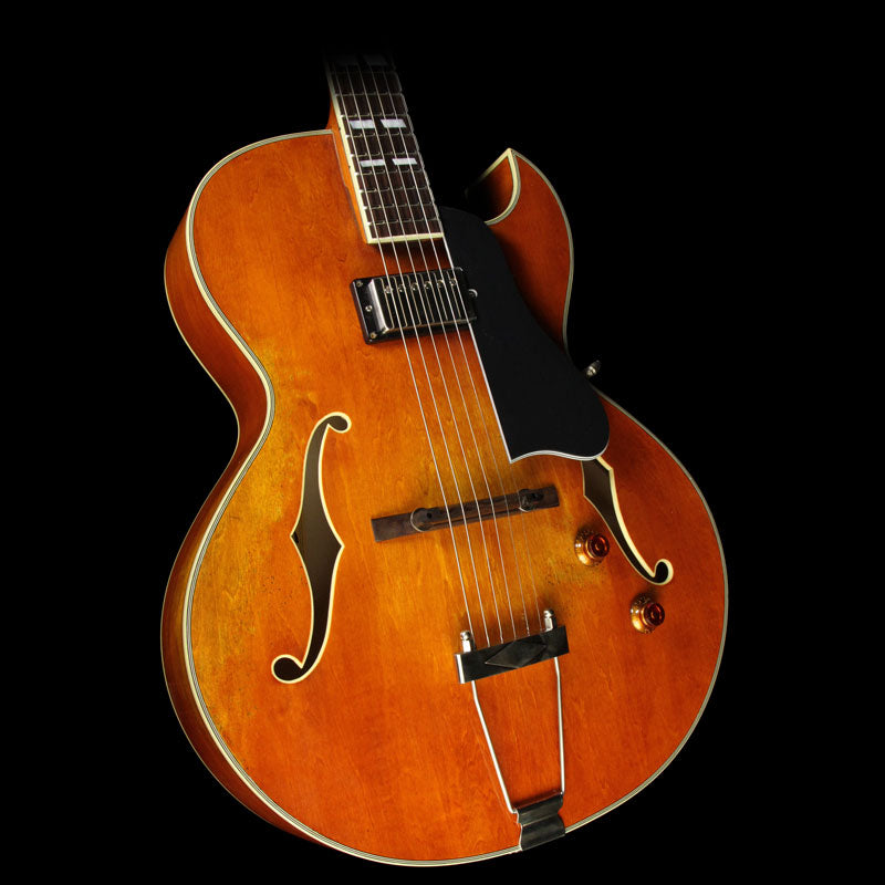 Eastman T49/v Archtop Electric Guitar Antique Amber