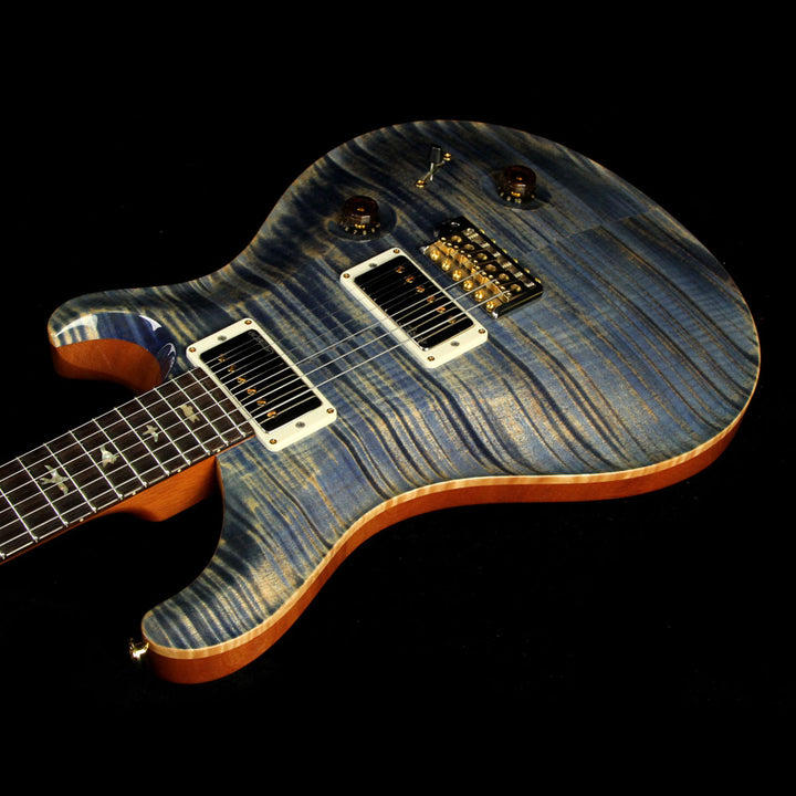 Used Paul Reed Smith PRS Custom 22 10 Top Electric Guitar Faded Blue Jean 195142