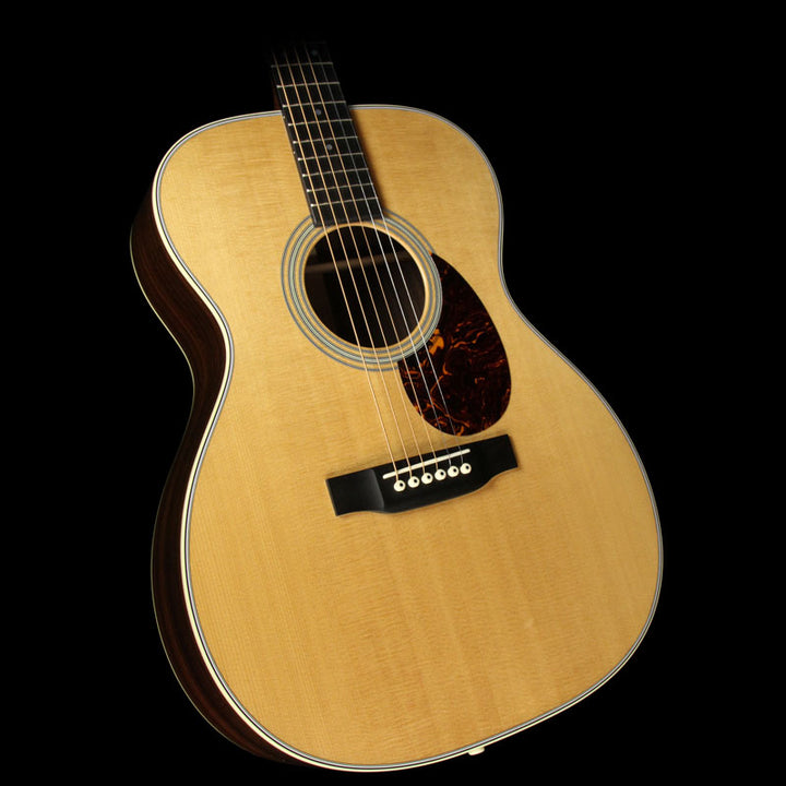 Used 2017 Martin Custom Shop 000-28 Sitka Spruce East Indian Rosewood Acoustic Guitar Natural 1847206