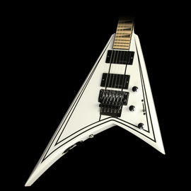 Jackson X Series Rhoads RRX24M 7-String Electric Guitar Snow White with Black Pinstripes