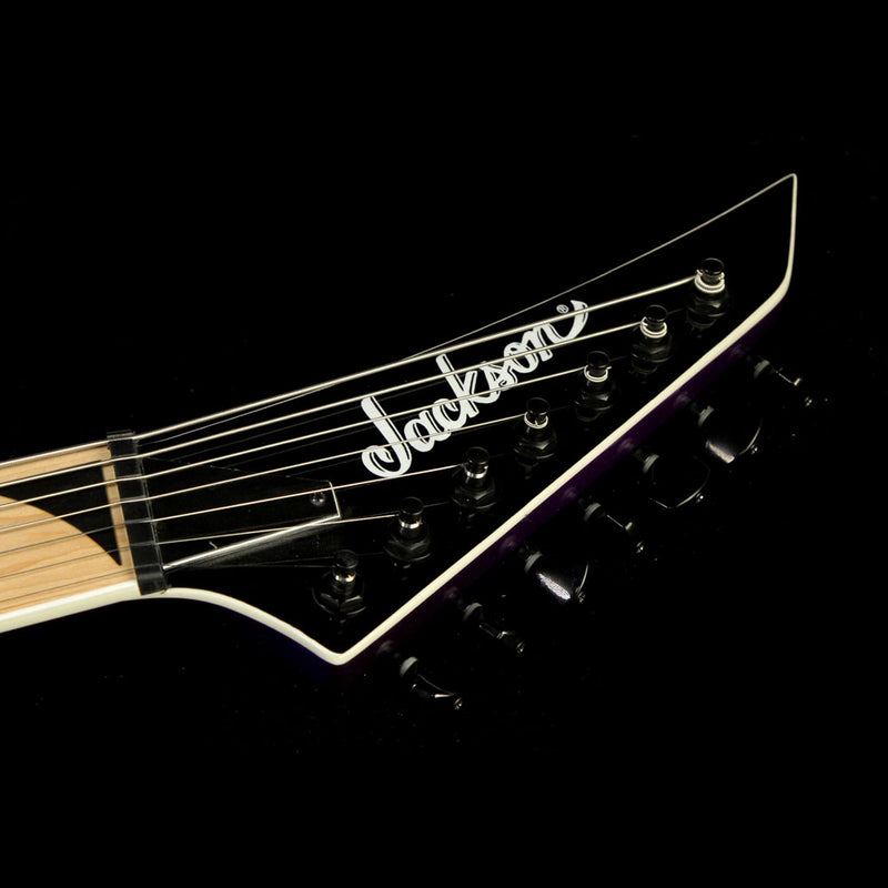 Used Jackson X Series TY2-7 HT Telly Electric Guitar Pavo Purple 2916920552