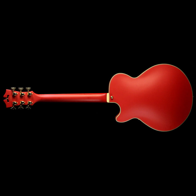 Used D'Angelico Prototype Deluxe SS Electric Guitar Matte Cherry W1600655