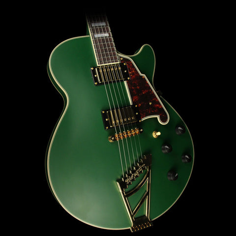 D'Angelico Prototype Deluxe SS Electric Guitar Matte Green