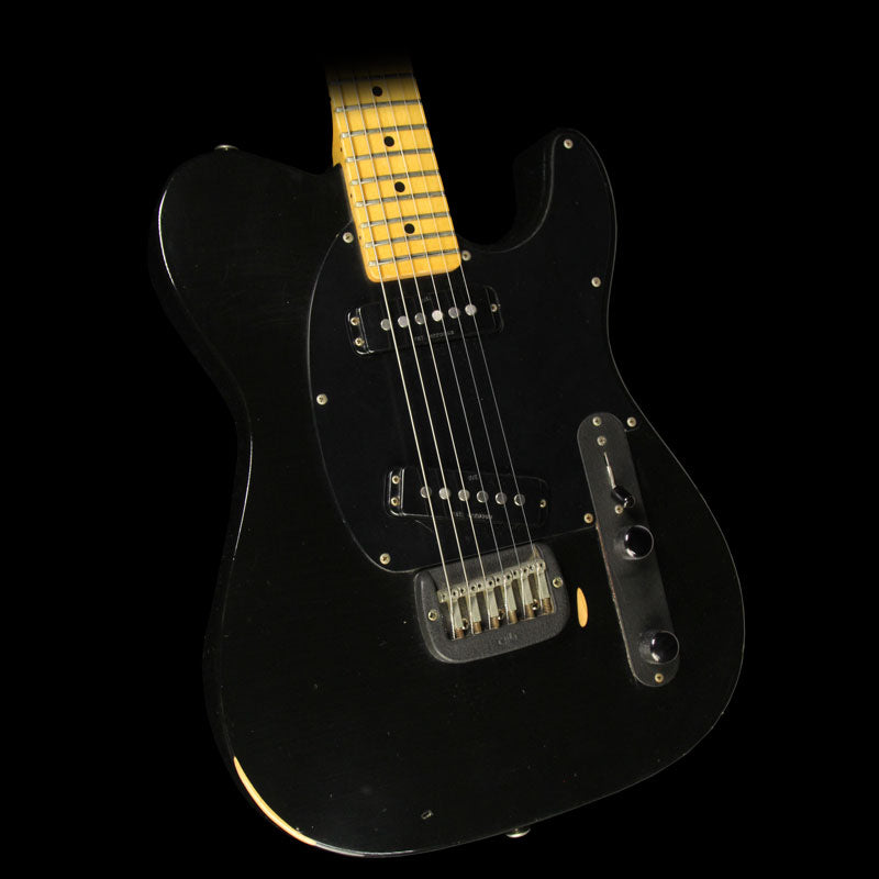 Used 1985 G&L Broadcaster Electric Guitar Black BC00505