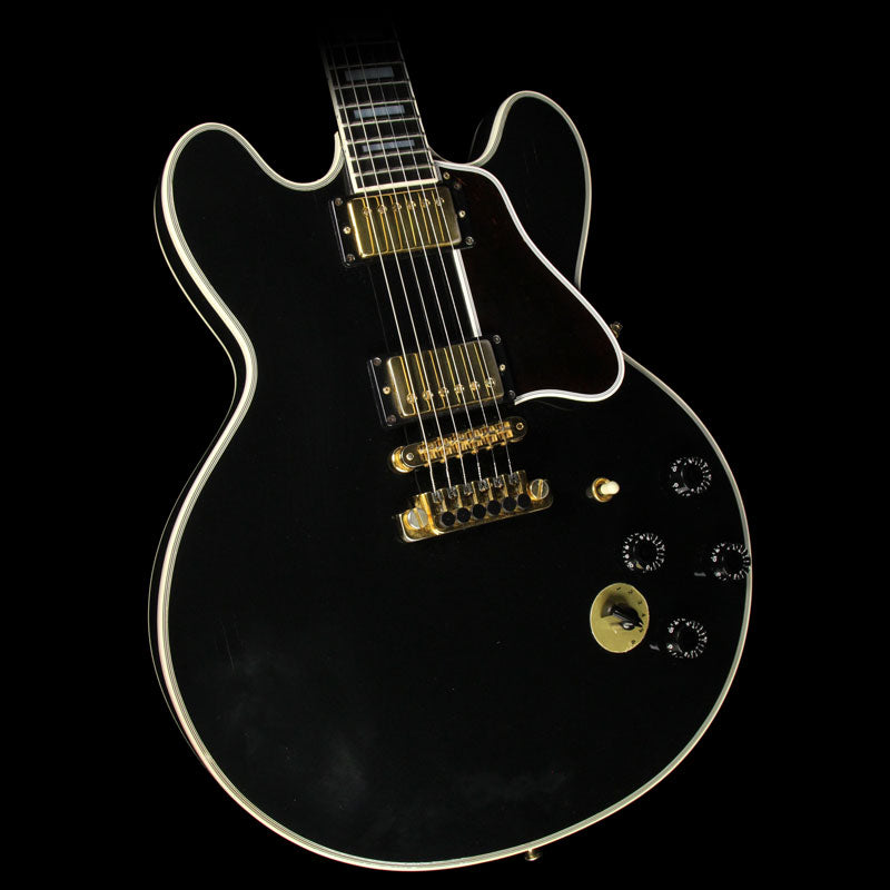 Used 1991 Gibson B.B. King Lucille ES-355 Semi-Hollow Electric Guitar Ebony 90981399