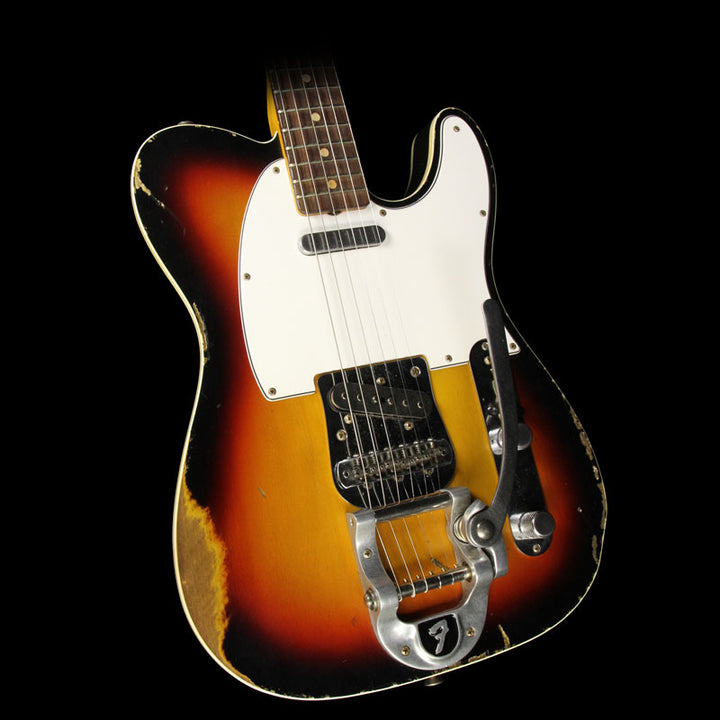 Used 2014 Fender Custom Shop '62 Reissue Custom Telecaster Electric Guitar 3-Tone Sunburst R78945