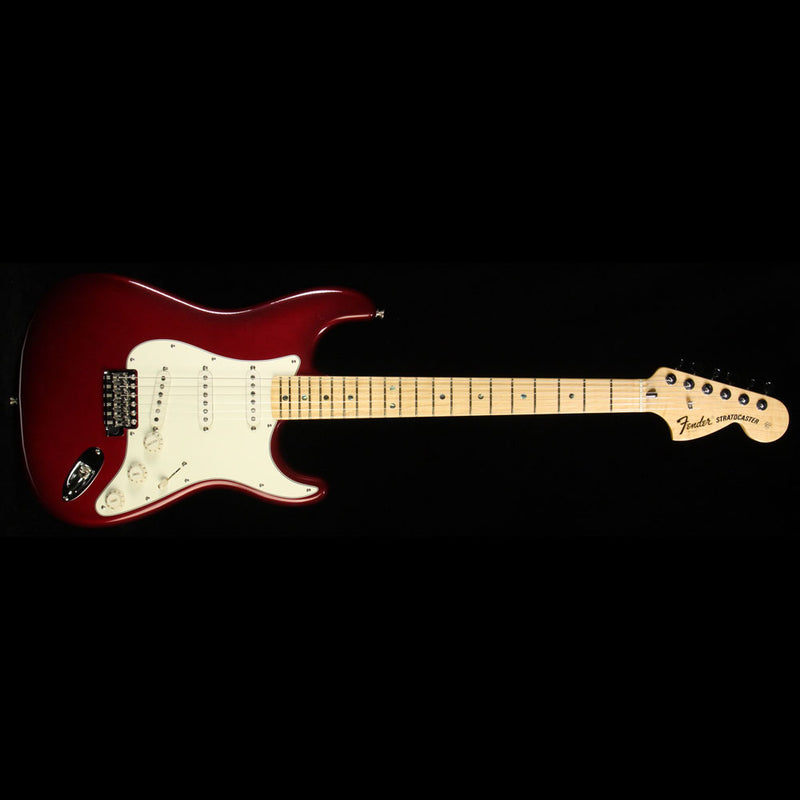 Used 2006 Fender Custom Shop Robin Trower Stratocaster Electric Guitar Midnight Wine Burst R32290