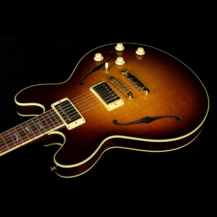 Used Collings I-35 Deluxe Semi-Hollowbody Electric Guitar Tobacco Sunburst 10493