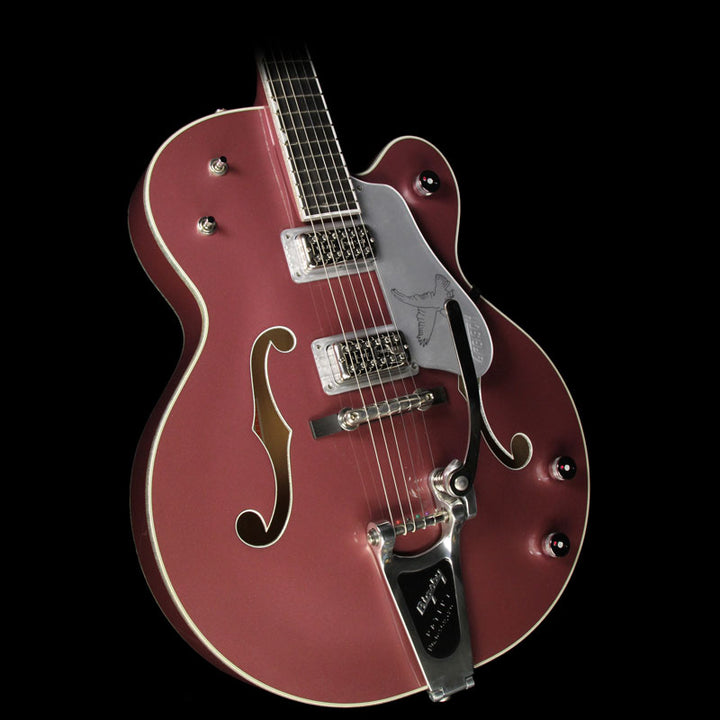 Used 2015 Gretsch G6136T-LTD15 Falcon Limited Edition Electric Guitar Rose Metallic JT15072116