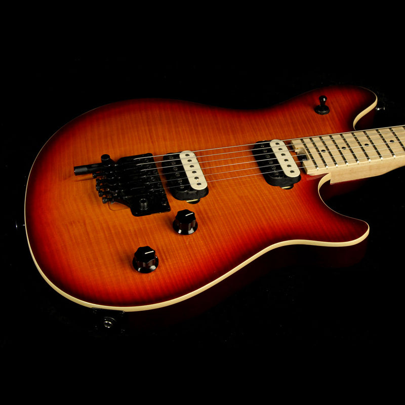 Used 2014 EVH Van Halen Wolfgang Special Electric Guitar 3-Color Cherry Burst WG140038M