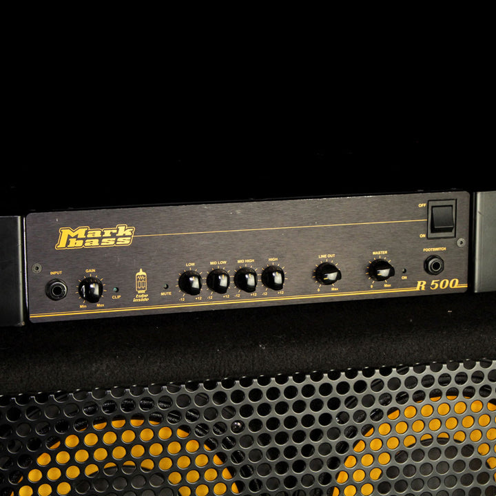 Used Markbass R500 500W Bass Amp Head and 104HR 4x10