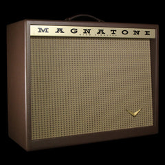 "Magnatone Traditional Collection 1x12"" Electric Guitar Amplifier Cabinet Brown"
