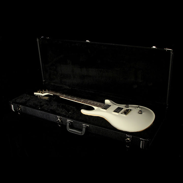 Used 2014 Paul Reed Smith Custom 24 Electric Guitar White 220446