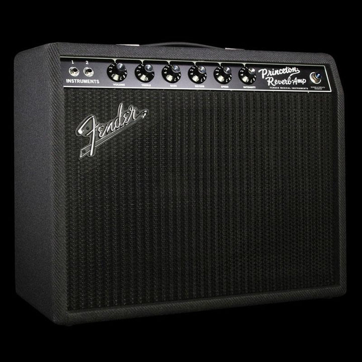 Fender Limited Edition '68 Princeton Reverb Black & Blue Combo Amplifier 2272000522