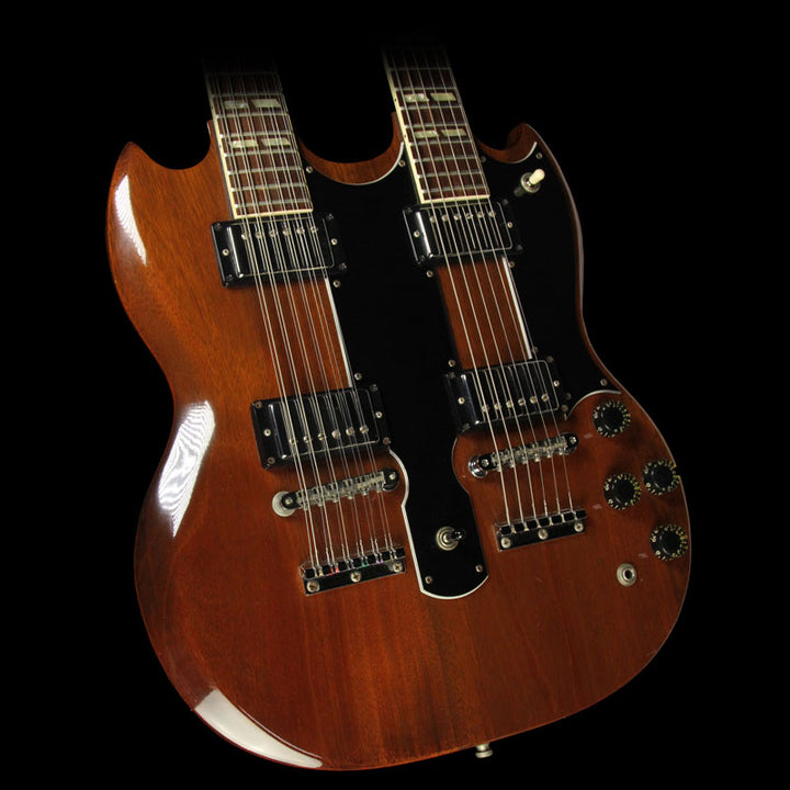 Used 1980 Gibson EDS-1275 Double Neck Electric Guitar Walnut 80150110