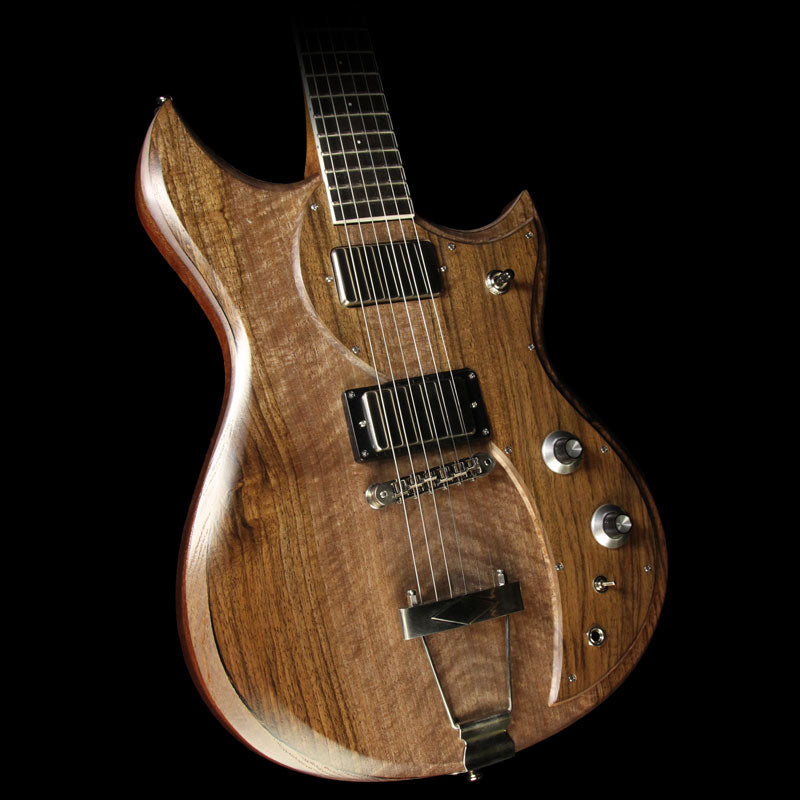 Dunable Cyclops Electric Guitar English Walnut and Figured Mahogany