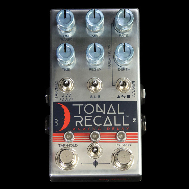 Chase Bliss Tonal Recall Analog Delay Effect Pedal