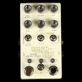 Chase Bliss Warped Vinyl mkII Analog Vibrato and Chorus Effect Pedal