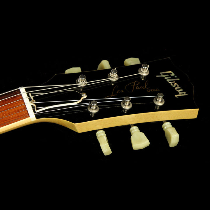 Used 2006 Gibson Les Paul Special Doublecut Electric Guitar TV Yellow 6598