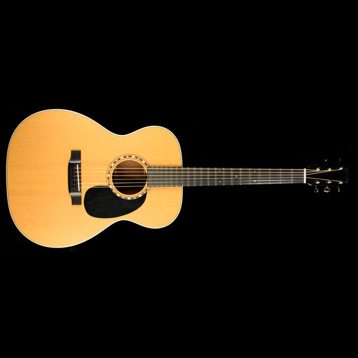Martin 2017 NAMM Display 000-15 Special 14-Fret Acoustic Guitar Tangerine 2045040
