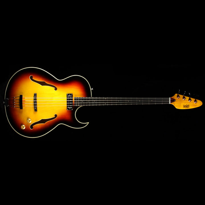 Used Eastwood Saturn IV Electric Bass Sunburst