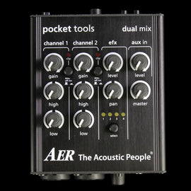 AER Dual Mix 2 Pre-Amplifier Mixer Effect Pedal