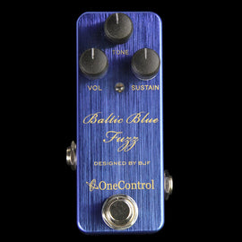 One Control BJF Series Baltic Blue Fuzz Effect Pedal