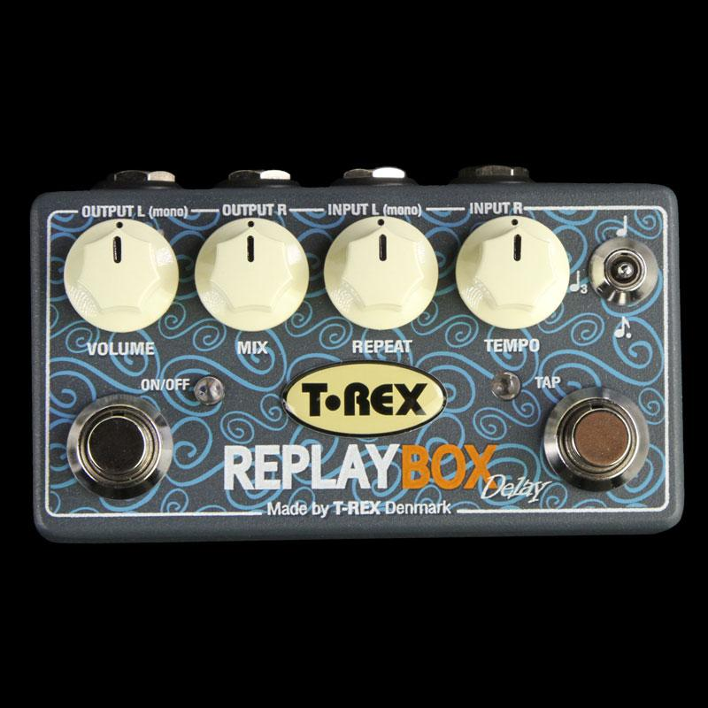T-Rex Replay Box Stereo Delay Effect Pedal REPLAY-BOX