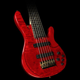 Used Yamaha TRBJP2 John Patitucci Signature Electric Bass Guitar Translucent Dark Red
