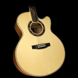 Used 2010 Magnus Opus MJ-310CK Mini Jumbo Acoustic Guitar Natural